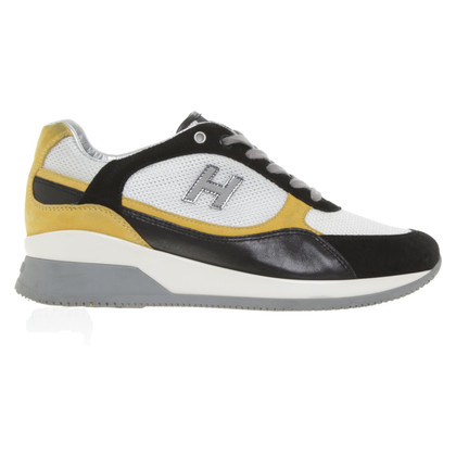 Hogan Sneakers in black / yellow / white
