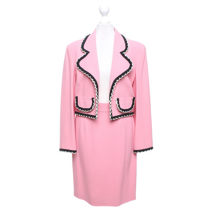 Moschino Cheap and Chic Costume in pink