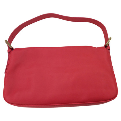 Fendi Handbag in coral red