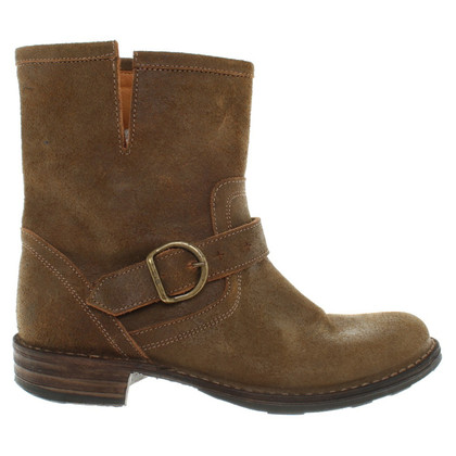 Fiorentini & Baker Ankle boots in olive green