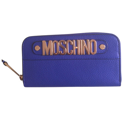 Moschino Wallet in blue