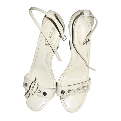 Tod's Sandaletten mit Keilabsatz