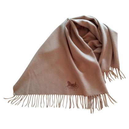 Céline Wool scarf in beige