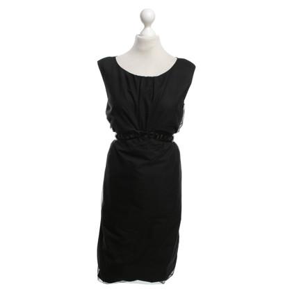 Laurèl Balloon dress in black