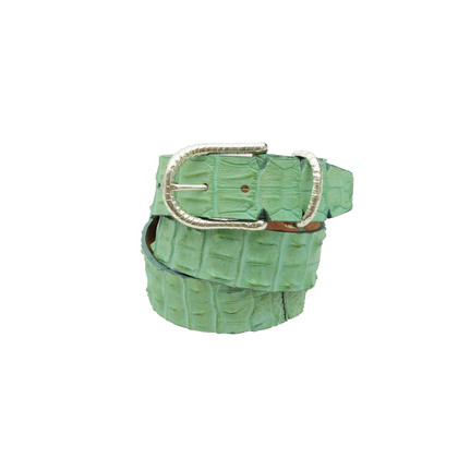 Ralph Gladen Cintura in pelle di coccodrillo