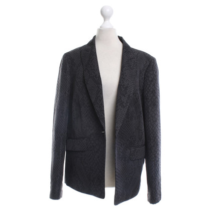 Hobbs Blazer in Black / grey