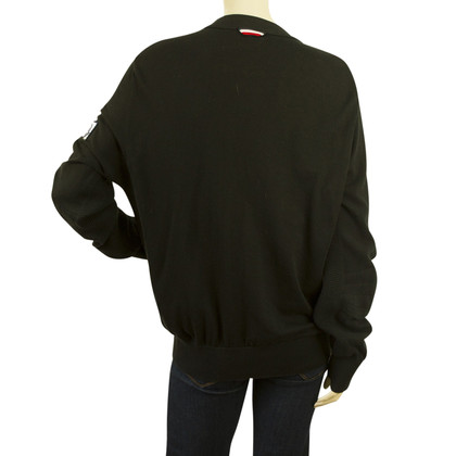 Moncler black cardigan