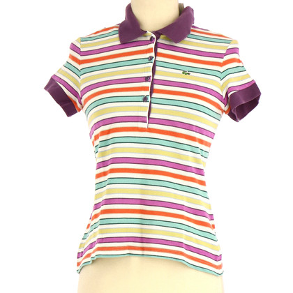 Lacoste Polo shirt with stripe pattern