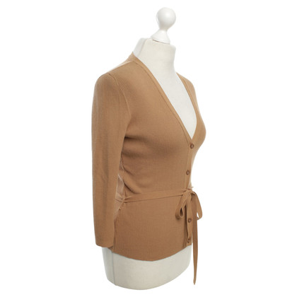 Wolford Cardigan in light brown