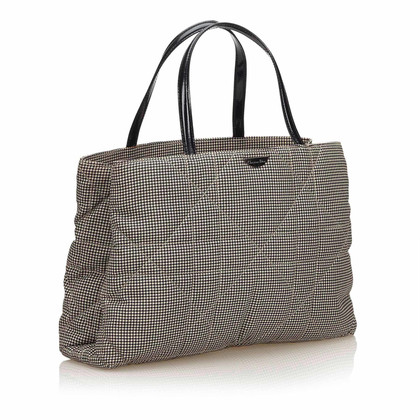 Christian Dior Handbag with pepita pattern