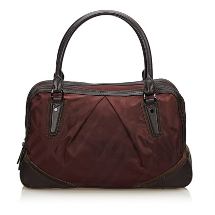 Burberry Handbag in Bordeaux