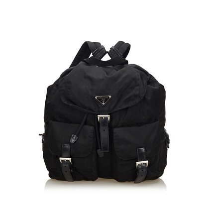 Prada Nylon Drawstring Backpack