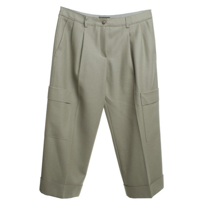 Armani trousers in gray / green