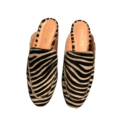 Marc Cain Mokassins im Zebra-Look