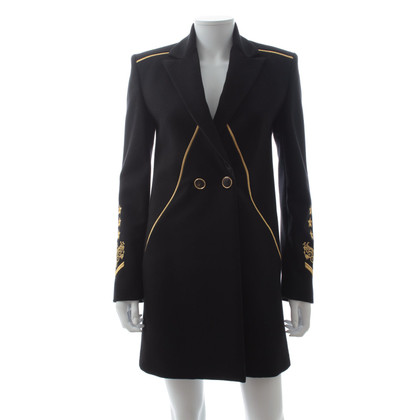 Versace embroidered coat