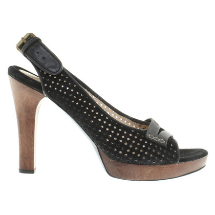 Hugo Boss Peep-toes in black