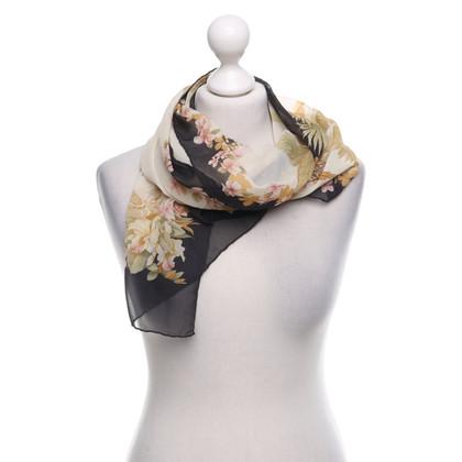 Salvatore Ferragamo Zijden sjaal met patroon