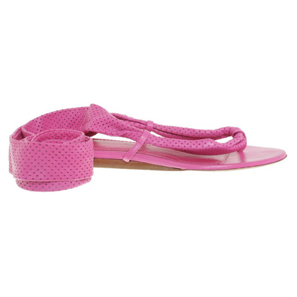 Givenchy Flip Flops in roze