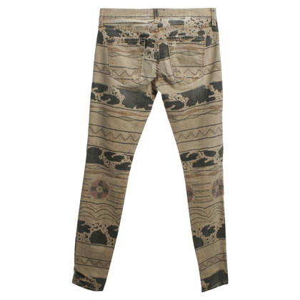 Current Elliott Patterned broek in beige / gekleurd