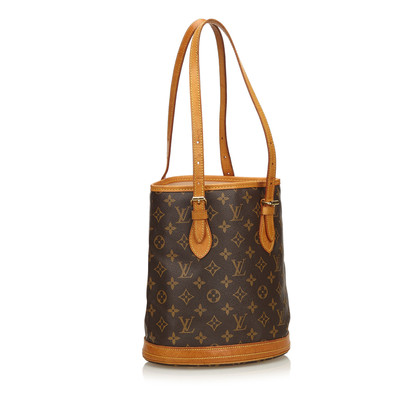 "Louis Vuitton ""Petit Bucket Monogram Canvas"""