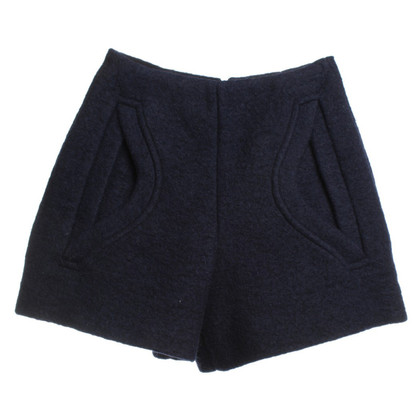 Carven Shorts a vita alta in Blue