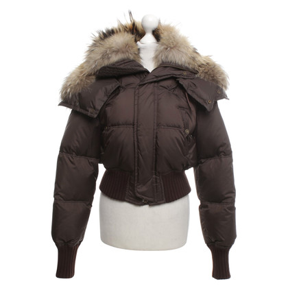 Dsquared2 Down jacket in dark brown