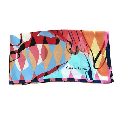 Christian Lacroix silk scarf