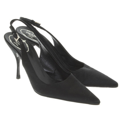 Prada Slingbacks satijn