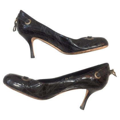 Christian Dior pumps in lakleder