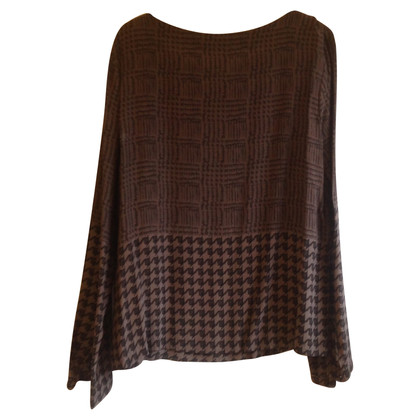 St. Emile Silk top with pattern