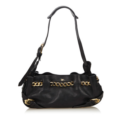 Burberry Leather Chain Shoulder Bag
