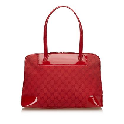 Gucci Guccissima Jacquard Handbag