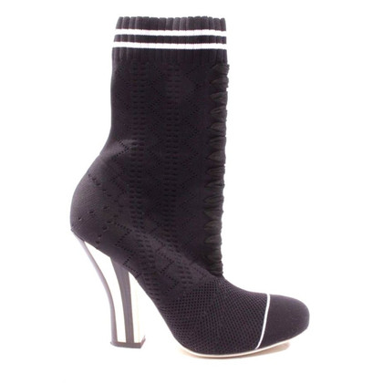 Fendi Ankle boots with knit