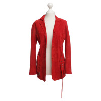 andere marke sylvie schimmel blazer in rot second hand andere marke sylvie schimmel blazer. Black Bedroom Furniture Sets. Home Design Ideas