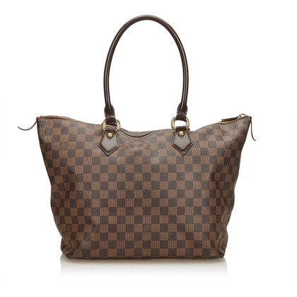 "Louis Vuitton ""Saleya MM Damier Ebene Canvas"""