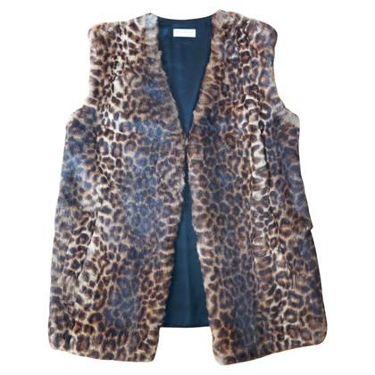 Dries van Noten Vest with fur trim