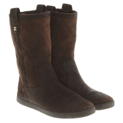 Chanel Boots in brown