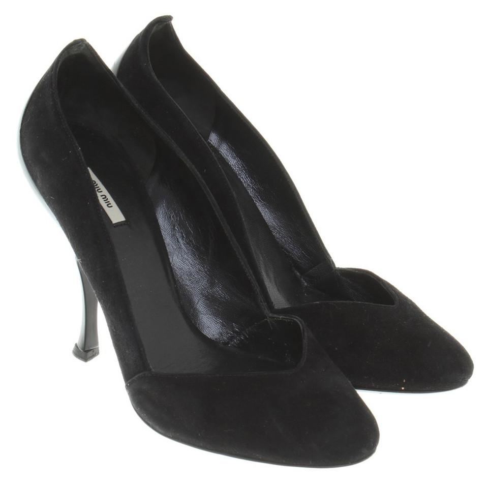 Miu Miu pumps in black
