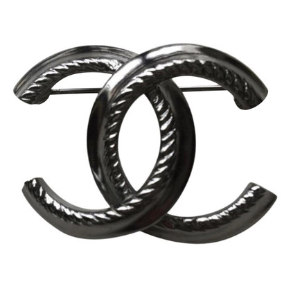 Chanel broche metalen
