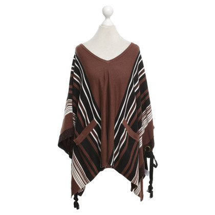 Claudie Pierlot Poncho in brown