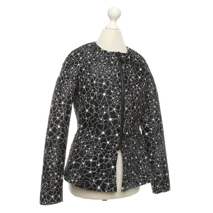 Giamba Paris Jacket with a floral pattern