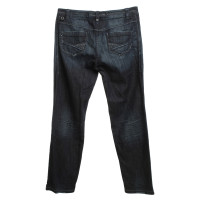 Marc Cain Used-Look Jeans in blue