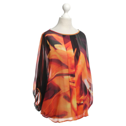 Ted Baker Silk tunic with Flame Print