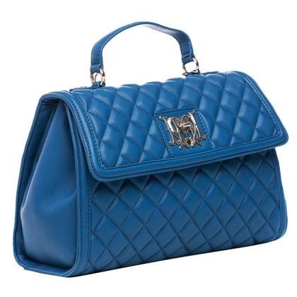 Moschino Love Blauwe gewatteerde tas