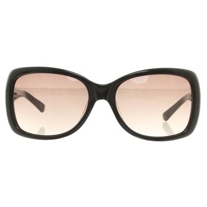 Max Mara Sonnenbrille in Schwarz