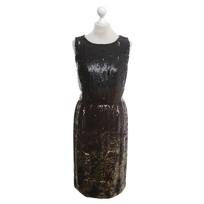 Oscar de la Renta Dress with sequin trim