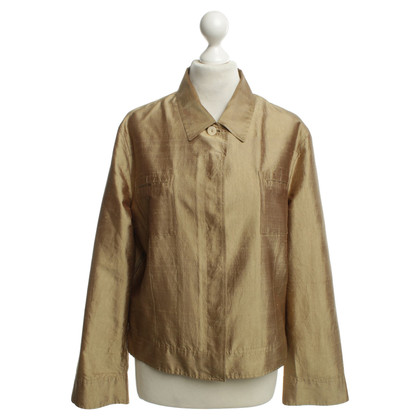 Bogner Gold colored short jacket