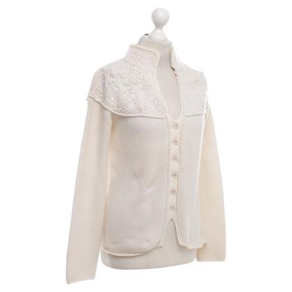 Brunello Cucinelli Cardigan in cream white