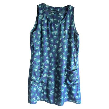 A.P.C. Tunika-Kleid aus Seide