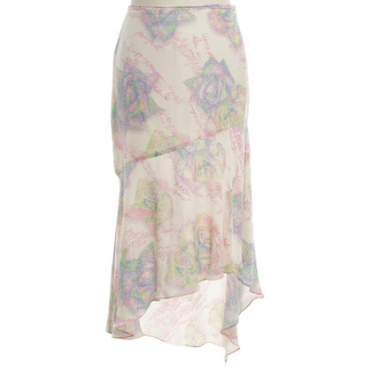 Escada skirt with print